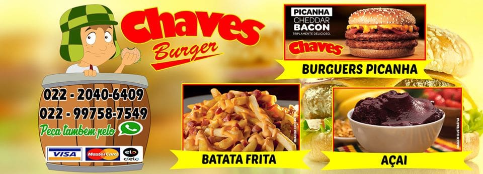 Chaves Burgers Cabo Frio