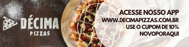 Décima Pizzas - Universitário