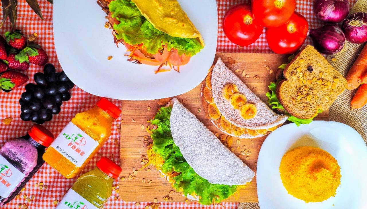 Fit Fome (tapioca, Cuscuz e Sanduíche)