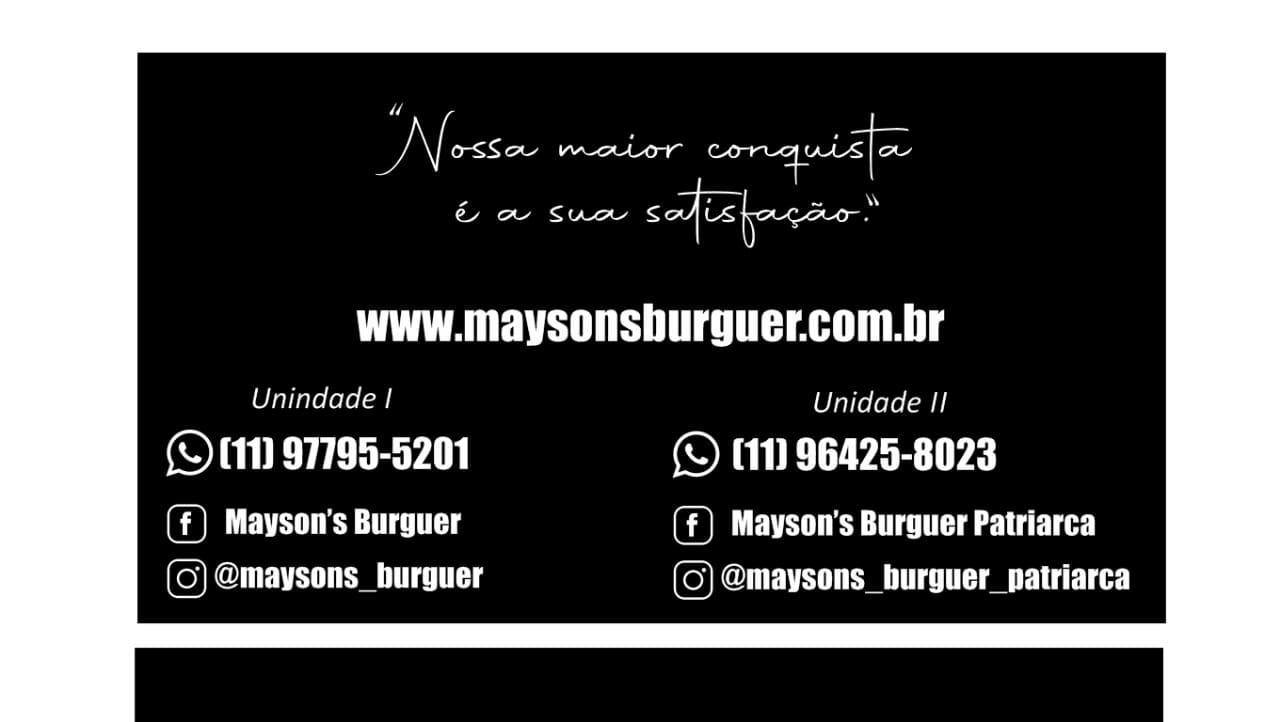 Mayson's Burguer