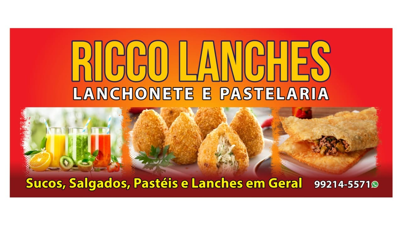 Ricco Lanches Lanchonete e Pastelaria
