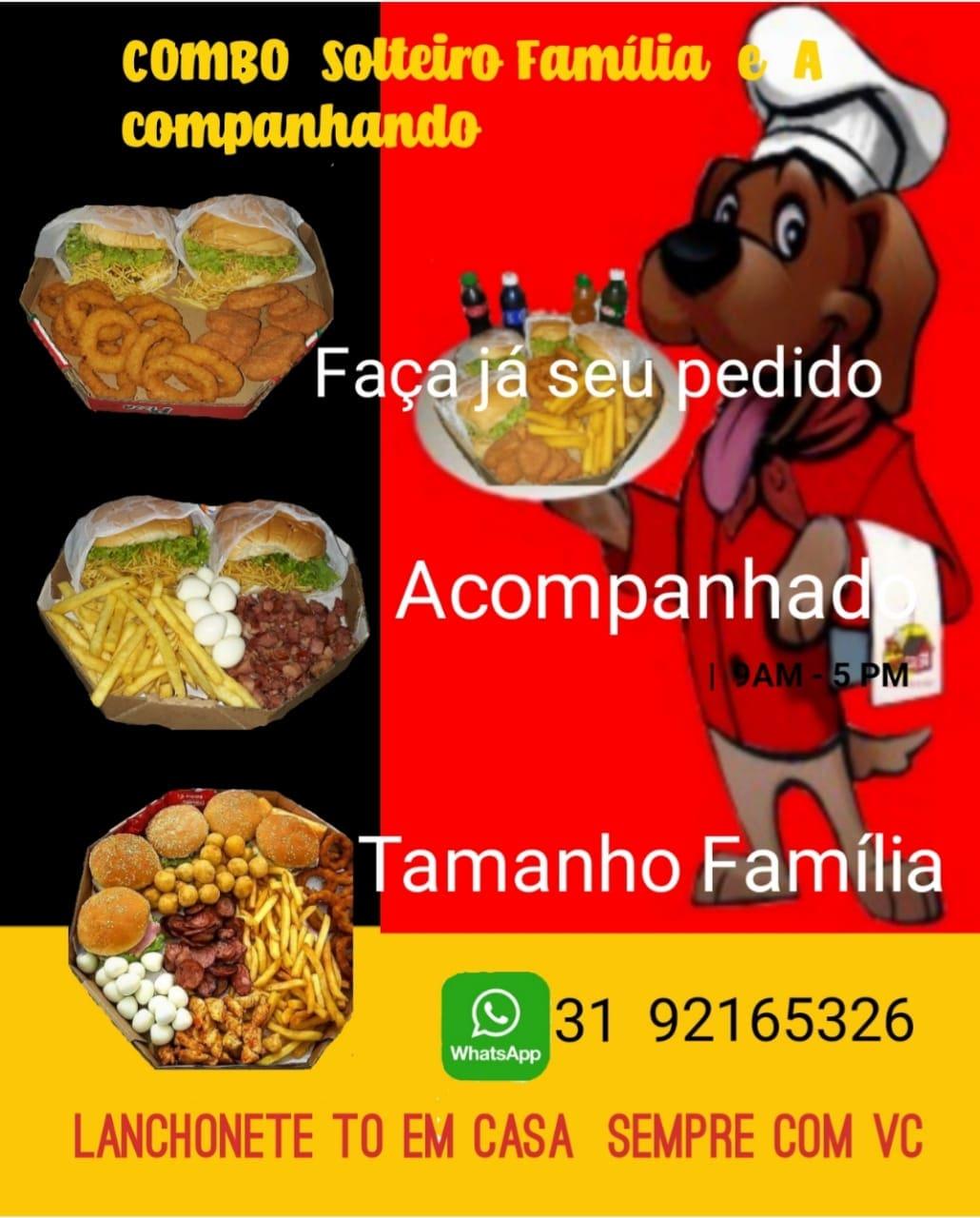 Restaurante e Lanchonete To em Casa