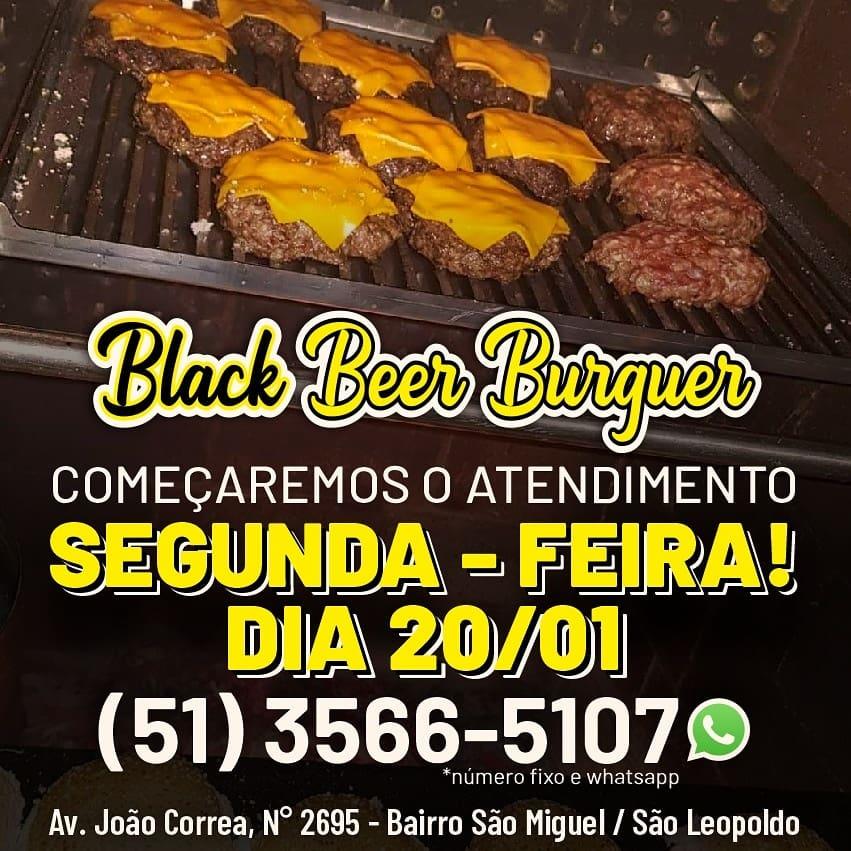 Black Beer Burguer