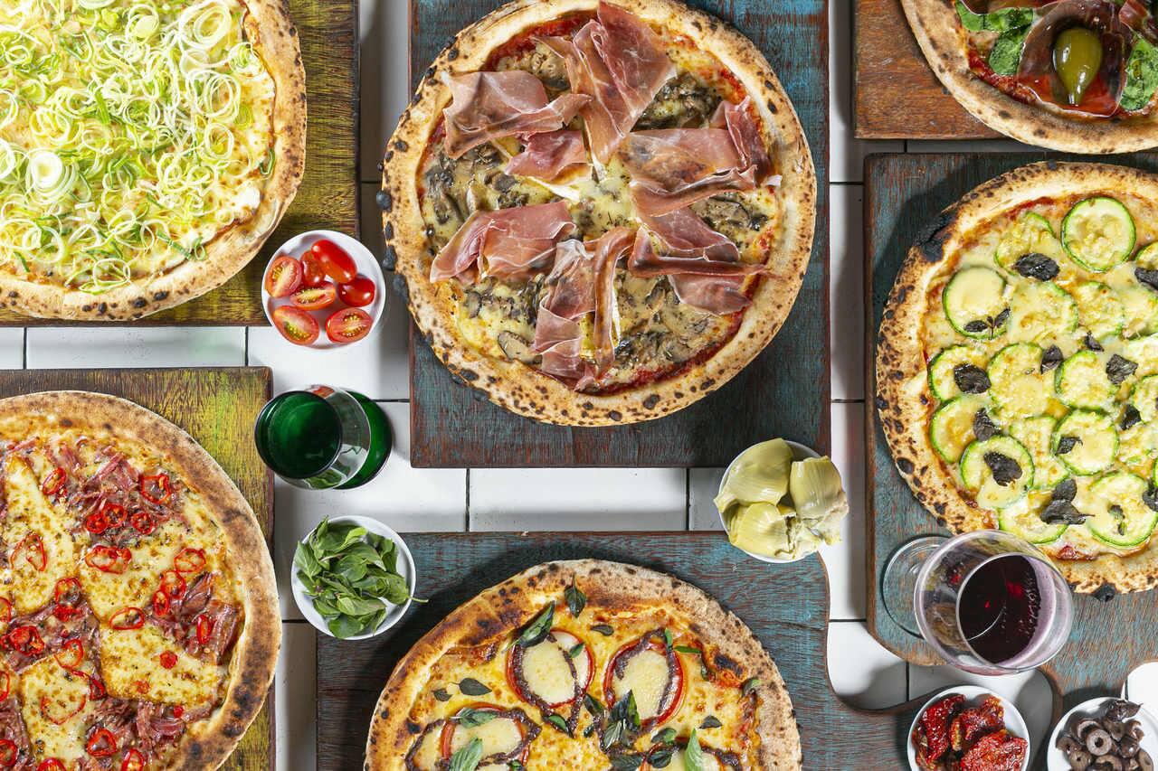 Pizza no Galpão