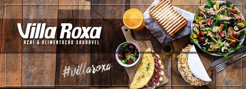 Villa Roxa - Açaí e Alimentação Saudável