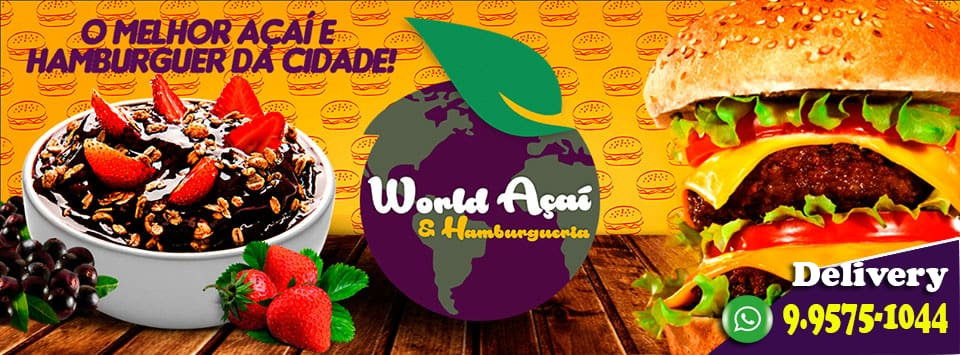 World Açaí & Hamburgueria