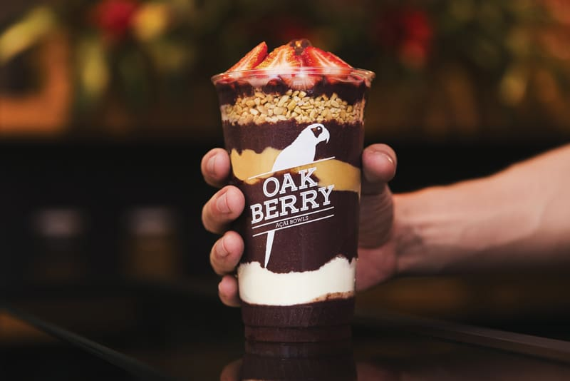 Oakberry Açaí - Miramar Shopping