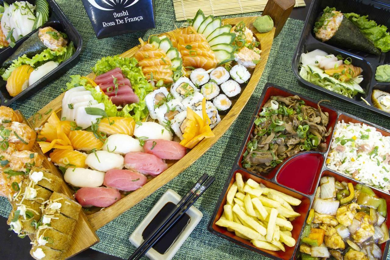 Sushi Rosa de França