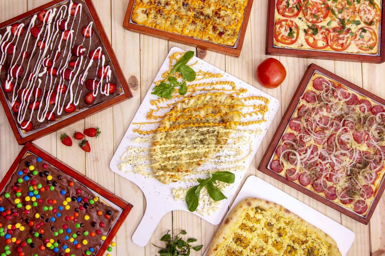 Dino's Pizza Quadrada