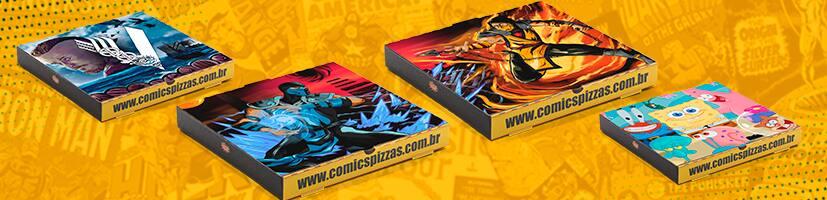 Comics Pizzas