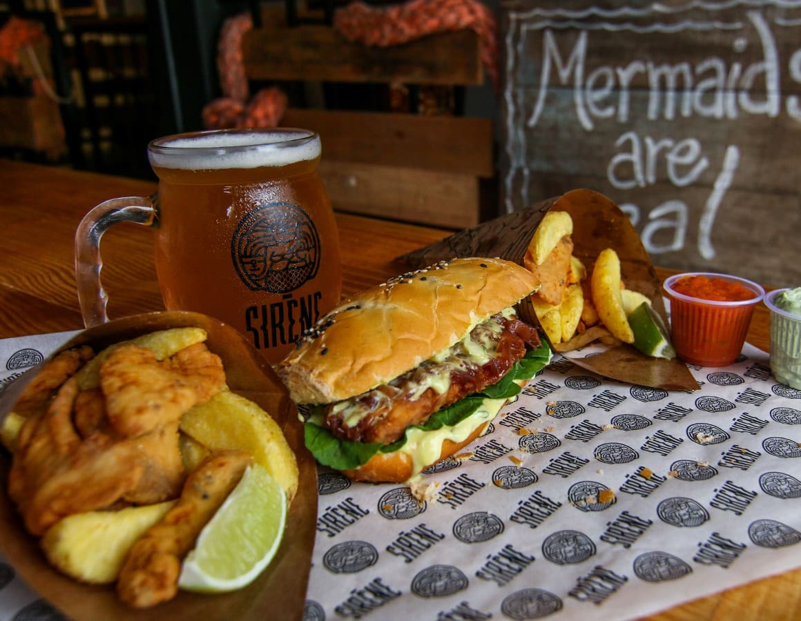 Sirene Fish & Chips - Vicente