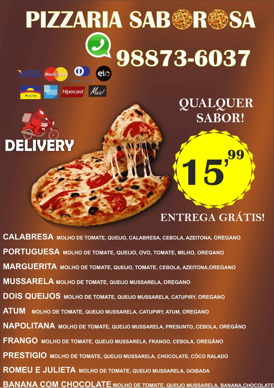 Pizzaria Saborosa