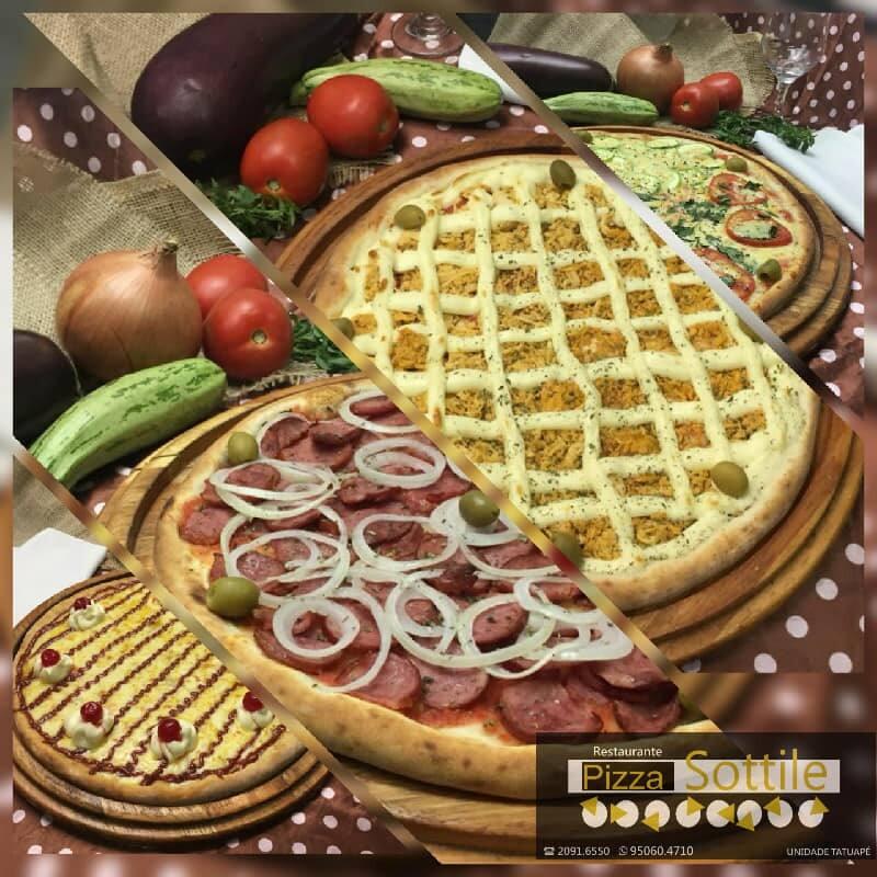 Pizza Sottille Bertioga
