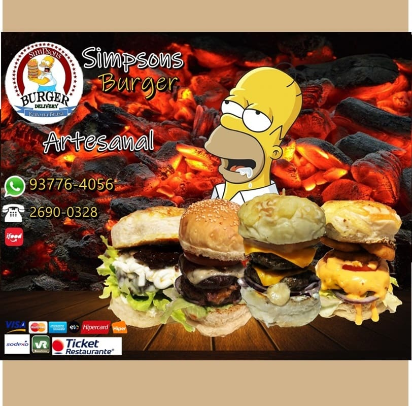 Simpsons Burger