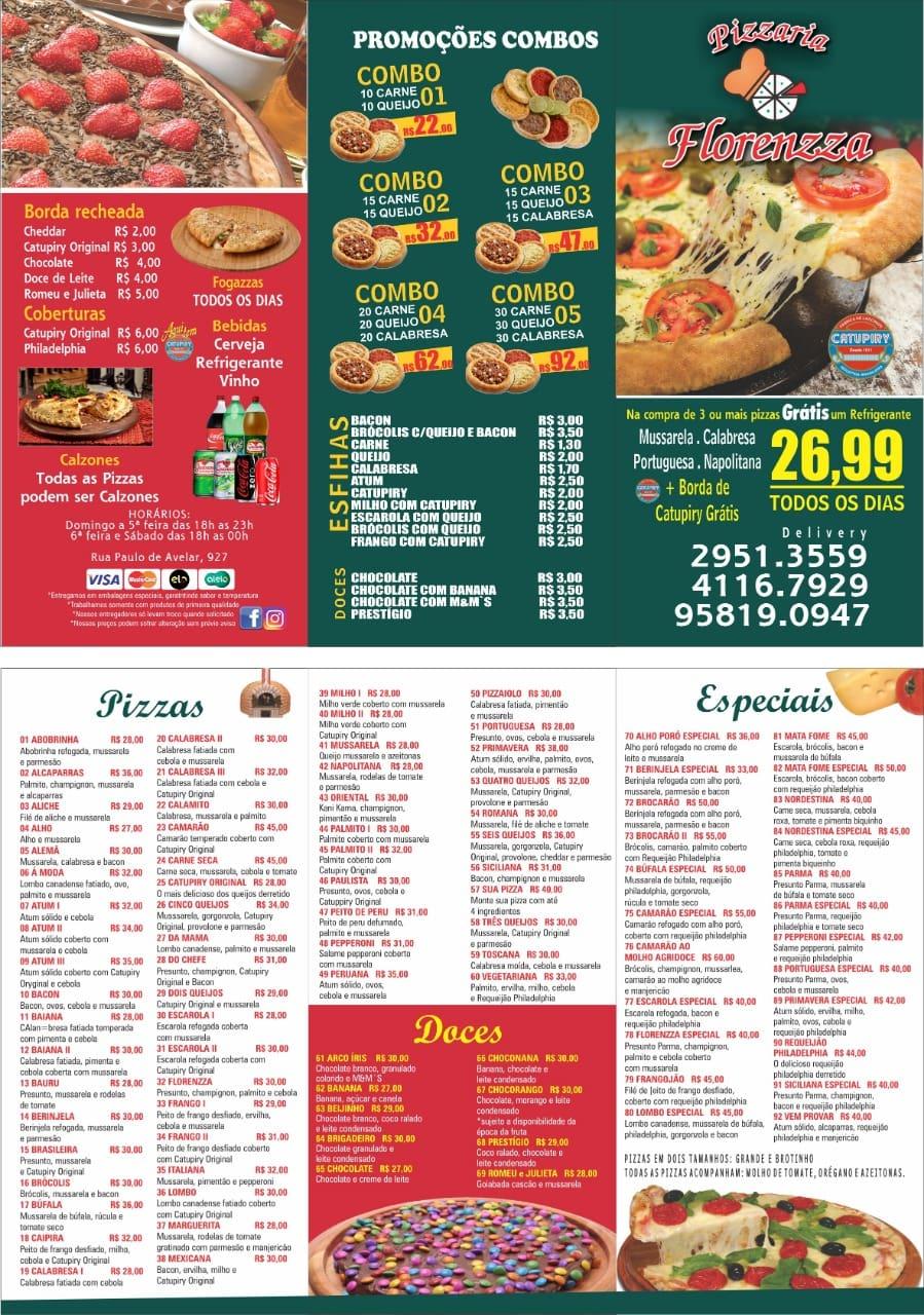 Pizzaria Florenzza
