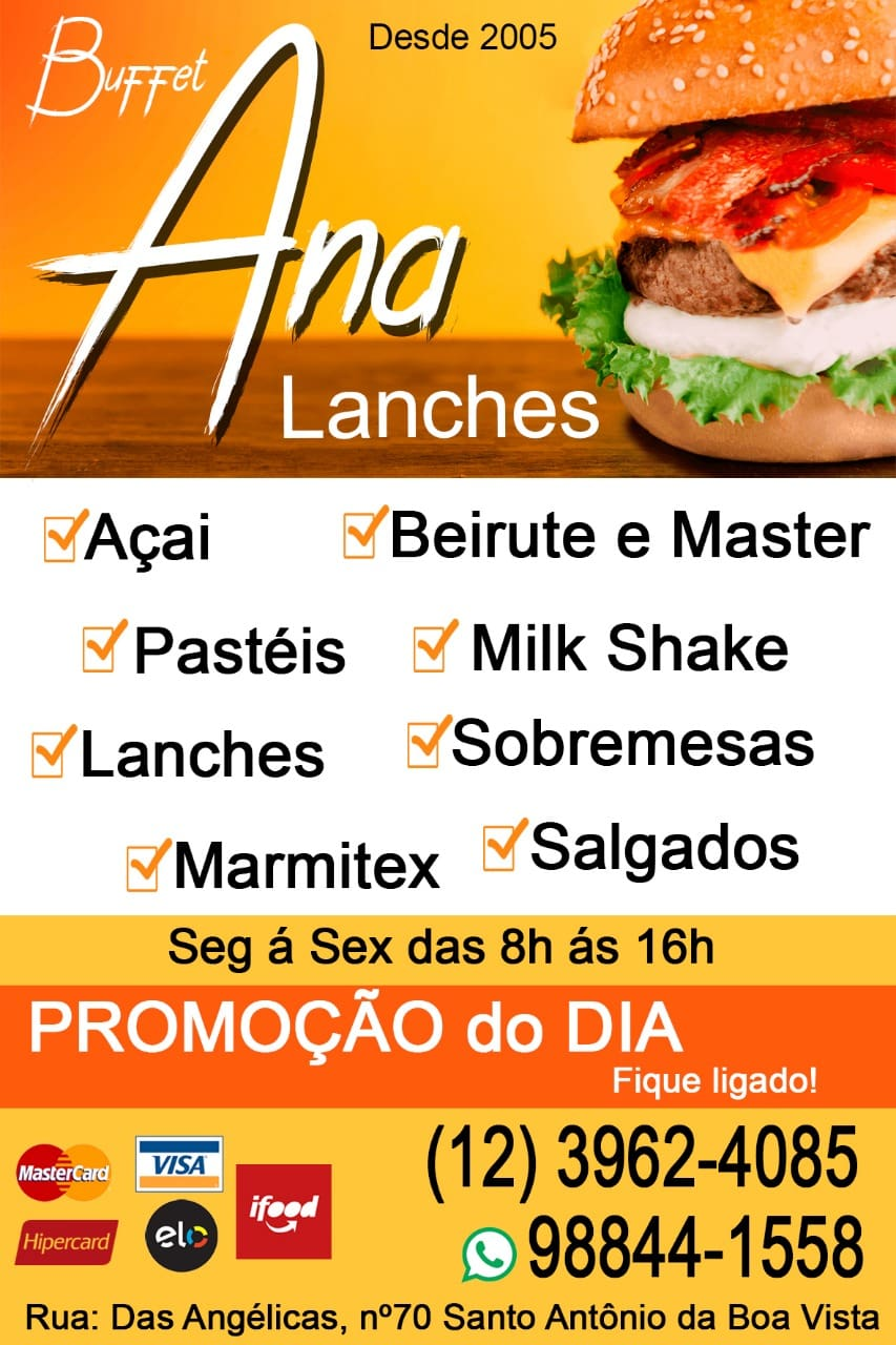 Ana Lanches e Pizzaria