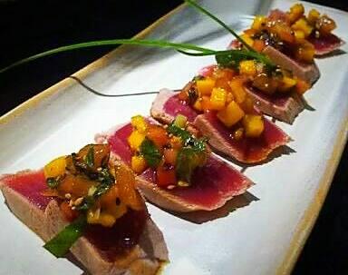 42 – tataki mango spicy tuna