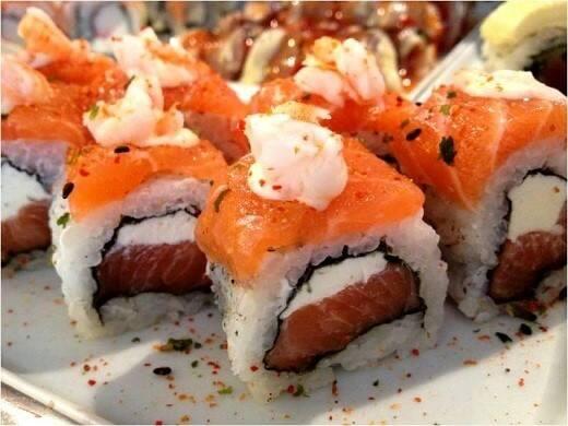 71 – uramaki salmão plus