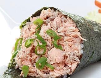 176 - temaki salmão grelhado (promoção 50% desconto)