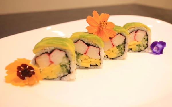 70 – uramaki califórnia avocado