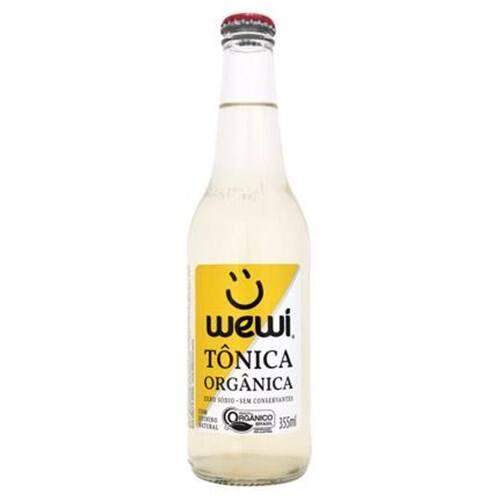 Água Tônica orgânica wewi 255 ml