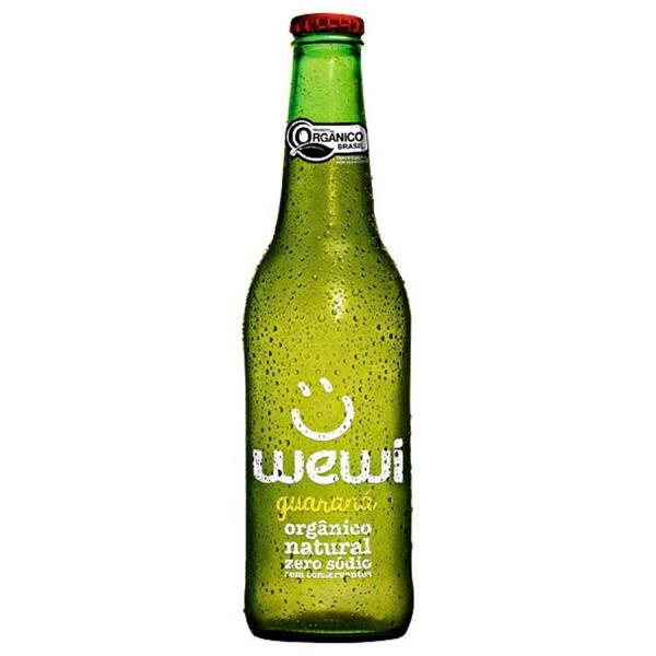 Refri orgânico wewi 255 ml - sabor Guaraná