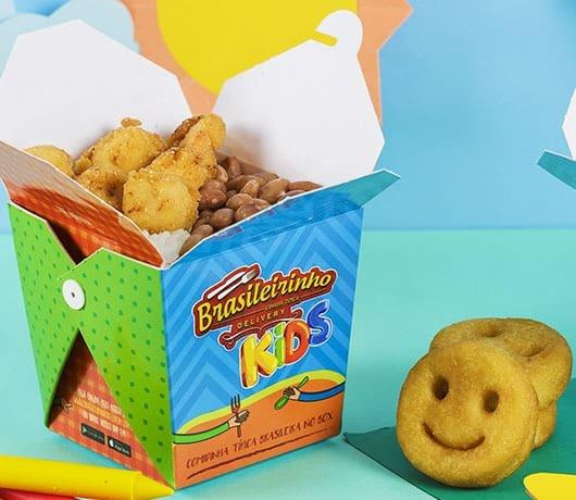 Kids frango + batata smiles