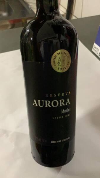 Vinho aurora reserva 750ml