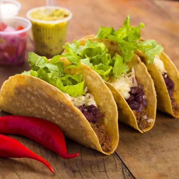 Tacos Chicano (3 unidades)