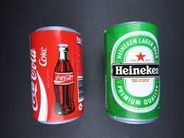 Refri cervejas e suco