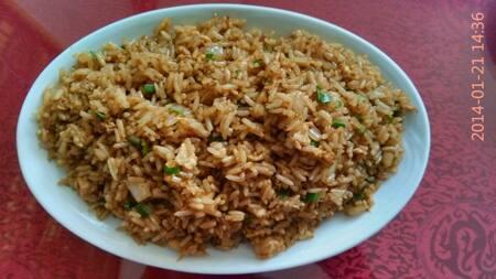 108- arroz risoto com frango
