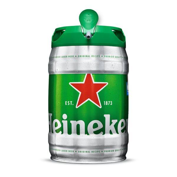 Barril da Heineken
