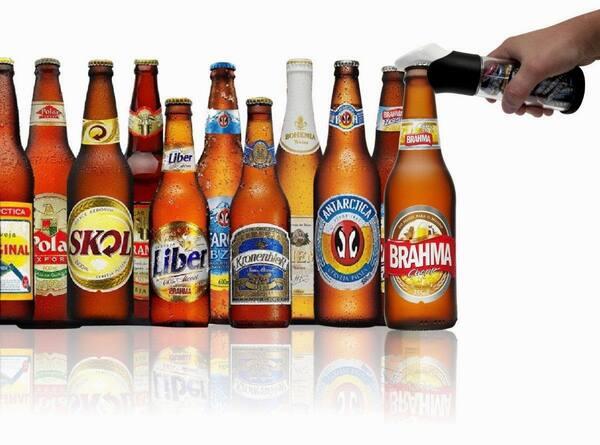 Cervejas em garrafa (unidade)
