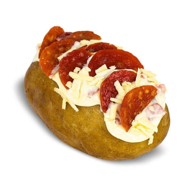 Pepperoni com mussarela