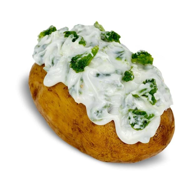 Vegetariana com brócolis