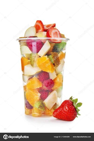 Salada de frutas copo de 300 ml