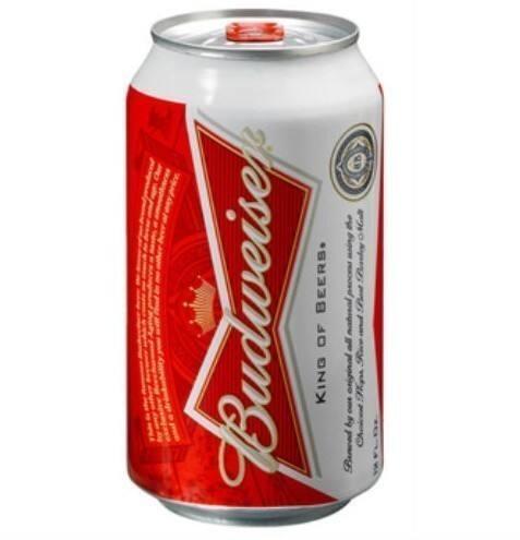 Budweiser lata 350 ml