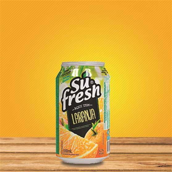 Sufresh laranja lata