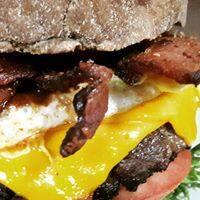 El cheese burguer bacon