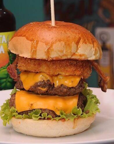 Combo Butecu´s Burger Onion Turbinado + Fries + Refri