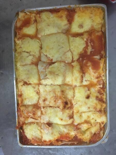 2 - lasanhas de presunto e queijo