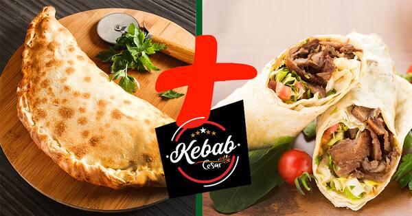 Promoção de calzone 20cm  +  kebab - experimente!