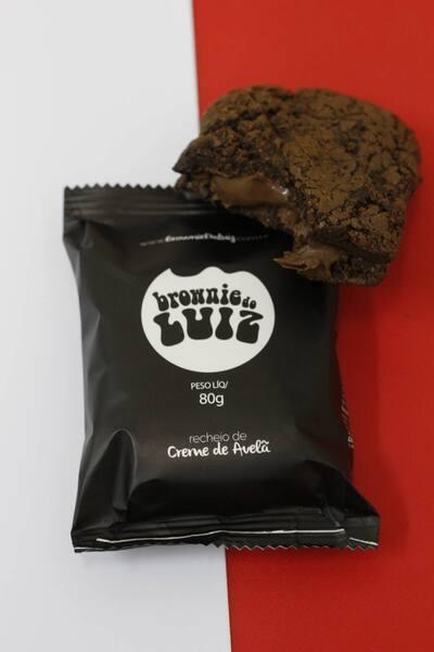 Brownie Creme de Avelã 80gr
