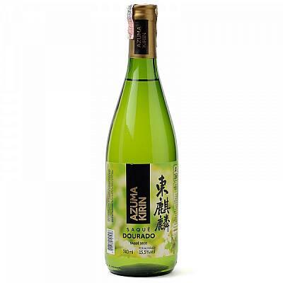 Sake azuma kirin dourado 740 ml