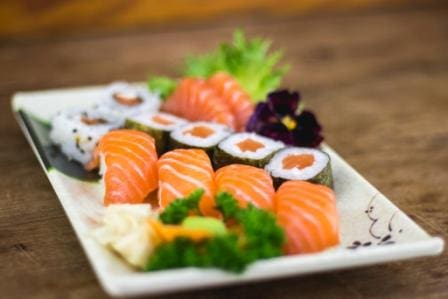 Combo salmão (12pçs)