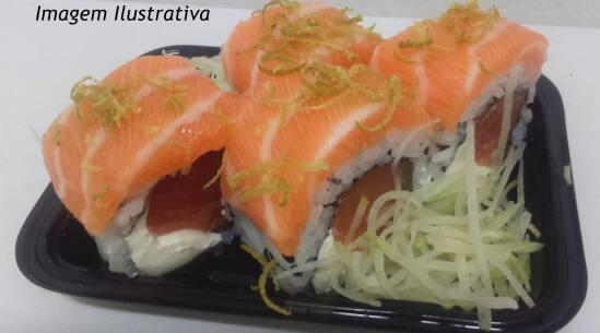 Uramaki salmão especial