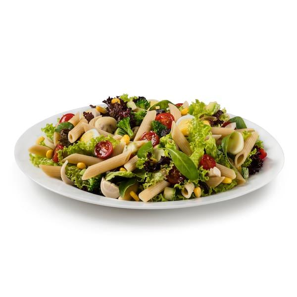Salada de massa tamanho tradizionale e GANHE 1 Suco de Laranja
