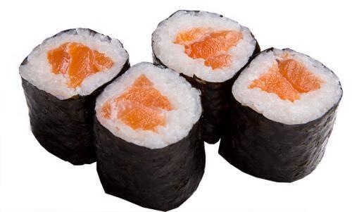 Maki salmão.