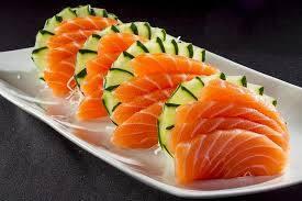 Combo 7 - 20 peças de sashimi salmão.