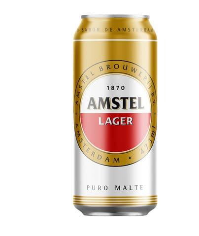 Cerveja Amstel latao 473ml